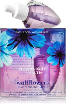 Bath & Body Works Wallflowers Home Fragrance Refill Bulbs Moonlight Path 2 Pack - Flower Path