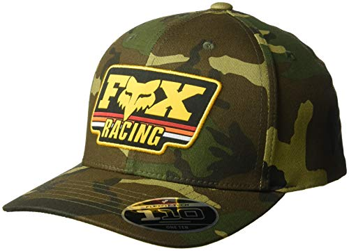 (Fox Men's 110 Curved Bill Snapback Hat, camo 2, OS)