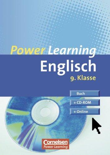 Power Learning - Englisch: 9. Schuljahr - Übungsbuch mit Lösungsheft, CD-ROM und Online-Angebot