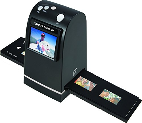ION Film 2 SD | 35mm Slide and Negative Scanner with SD Card (5 Megapixel sensor) by ION Audio