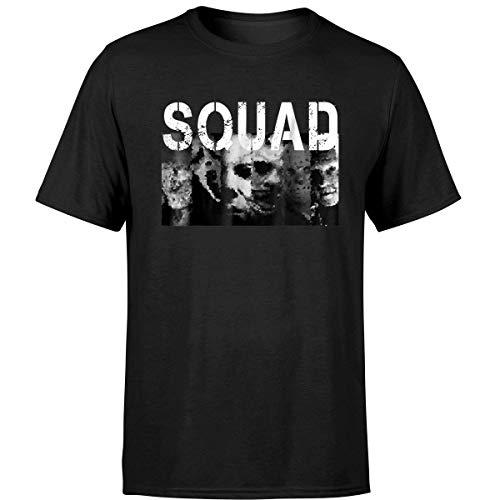 Worldwide Tee Shirts Horror Thriller Serial Squad Halloween T Shirt (Unisex T-Shirt/Black/M)]()