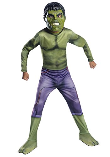 Easy Costume Your Make Own Superhero (Rubie's Costume Avengers 2 Age of Ultron Child's Hulk Costume,)