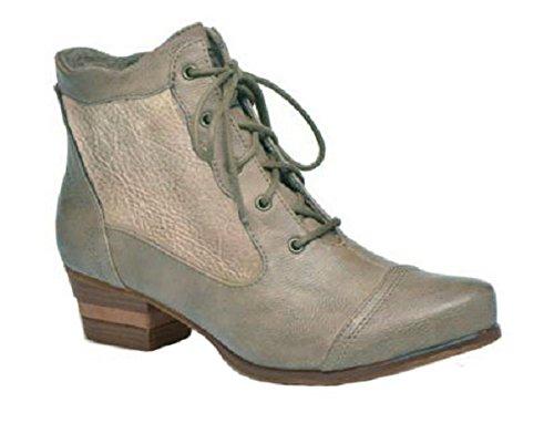 Stivali In Pelle 11sunshop Di Hgilliane Modello Joelle Design In 33-44 Grigio