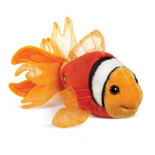 Ganz Lil' Webkinz Plush - Lil' Kinz Tomato Clown Fish Stuffed Animal