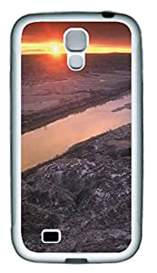 Samsung Note S4 CaseSunset River TPU Custom Samsung Note 2 Case Cover White