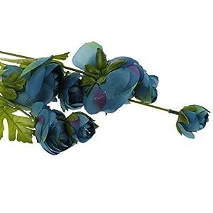 MonkeyJack Artificial Silk Large Camellia Rose 86cm Single Stem Wedding Flower 6 Colors 58