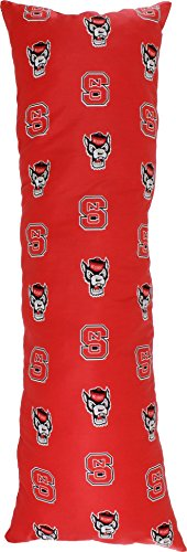 College Covers North Carolina State Wolfpack Printed Body Pillow, 20'' x 60'' by College Covers (Image #4)