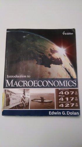 Introduction to Macroeconomics 4th Edition