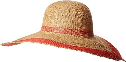 Poppy Border - Echo Design Women's Statement Border Sun Hat Poppy One Size