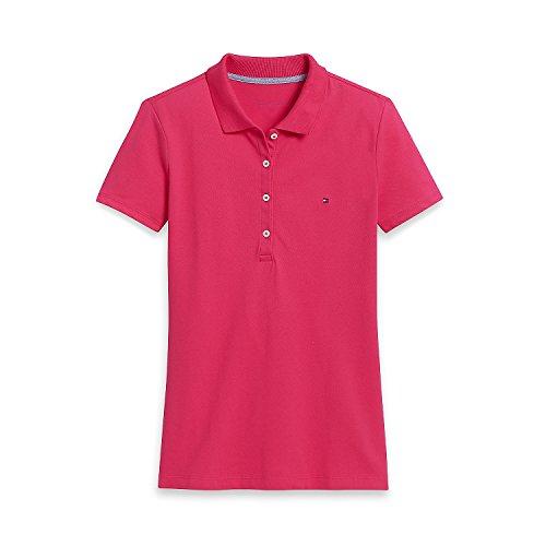 Tommy Hilfiger Poloshirt, Plain Logo Polo, Medium