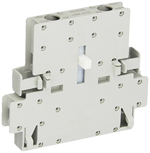 Siemens 3RH19 21-1DA11 Laterally Mountable Auxiliary Switch Block, Screw Connection, 2 Pole, S0 - S12 Size, 1 NO + 1 NC Auxiliary Contacts