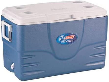 Coleman 52-Quart Extreme Cooler, Blue Keep Food And Drinks Cold For Nearly A Week