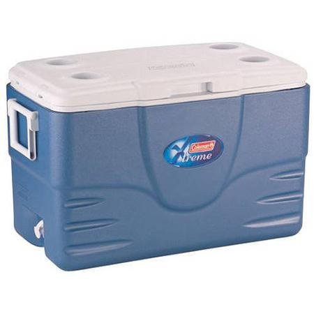 Coleman 52-Quart Extreme Cooler, Blue Keep Food And Drinks Cold For Nearly A Week by Coleman