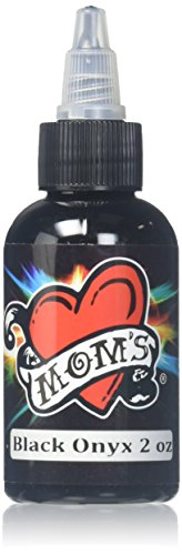 Ink Tattoo Shop - MOM'S Tattoo Ink - Black Onyx (2 Oz.)