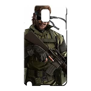 samsung note 3 Hybrid Anti-scratch Skin Cases Covers For phone cell phone shells metal Gear Solid Snake Eater 3d 10679 Black Friday