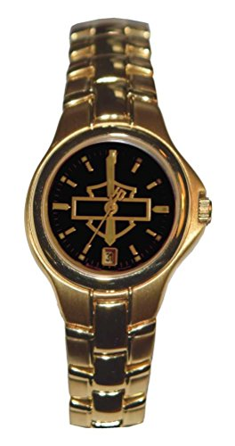 Harley-Davidson Women's Bar & Shield Gold Stainless Steel Watch, Gold 77M00