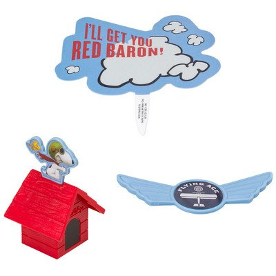 The Peanuts Movie Flying Ace DecoSet Cake Decoration Topper