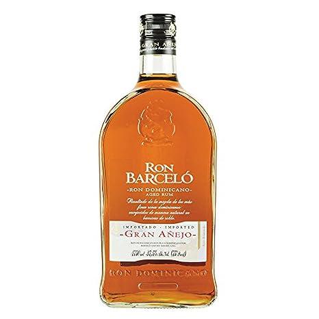 Ron marrón, República Dominicana, 5 años de almacenamiento, botella de 1750 ml - Ron BARCELO GRAN ANEJO 37,5% vol, 1750ml: Amazon.es: Alimentación y bebidas