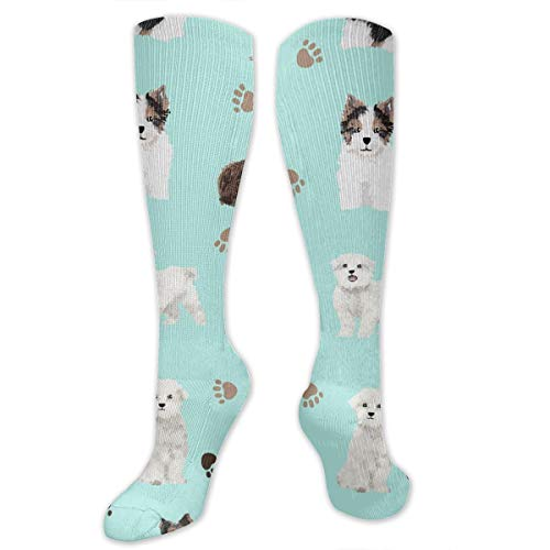 - Niwaww Yorkie Maltese Biewer Terriers Dogs Compression Socks for Women and Men - Best Medical,for Running,Nursing,Hiking,Varicose Veins,Circulation & Recovery