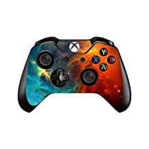 SKINOWN Xbox One Controller Skin Cosmic Nebular Sticker Vinly Decal Cover for Microsoft Xbox One DualShock Wireless Controller