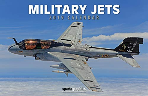 Sparta Military Jets - 2019 Military Jets Deluxe Wall Calendar