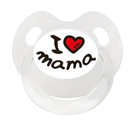 bibi 112351 Classic baby pacifier Silicona Color blanco - Chupete