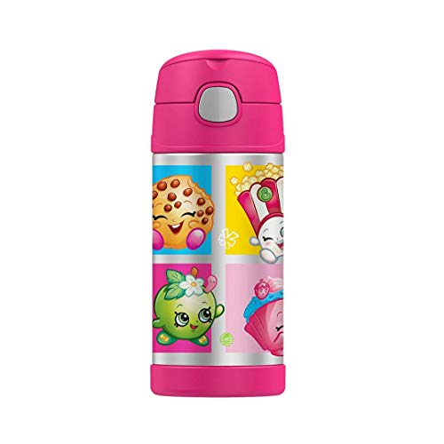 Thermos Funtainer 12 Ounce Bottle, Shopkins ()