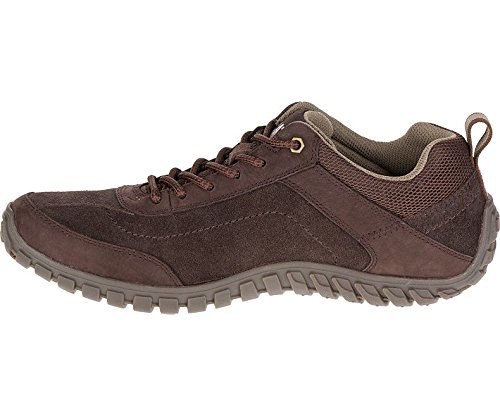 Caterpillar Mens P721362 Arise Suede Shoes grano de café