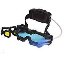 MukikiM SpyX / Night Mission Goggles *2016 Top Fun Award Winner* Spy Toy - Goggles with Twin LED Light Beams, Flip Out Scope, Comfortable Headset and Battery Pack. Perfect addition for your spy gear collection!
