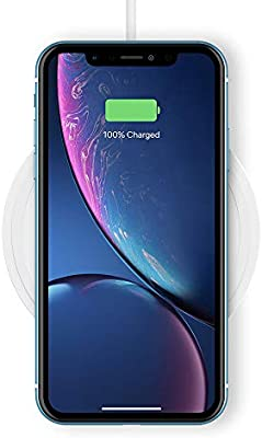 Belkin Boost Up 10 W - Base de carga inalámbrica Qi (para iPhone 11, 11 Pro/Pro Max, XS/XS Max, XR, Samsung Galaxy S10/S10+, S10e Note9 y otros, no ...