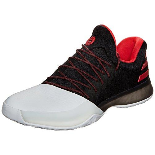 Adidas Harden Vol. 1Herren Basketball Schuhe, Schwarz–(negbas/escarl/Ftwbla) 50