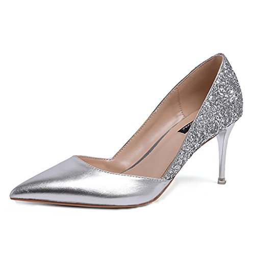 YLLHX Chaussures pour Femmes Nuptiale Robe