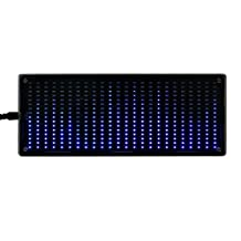 DIY Kits 384Pcs LED Lights Digital Audio Music Spectrum Analyzer Display with Shell