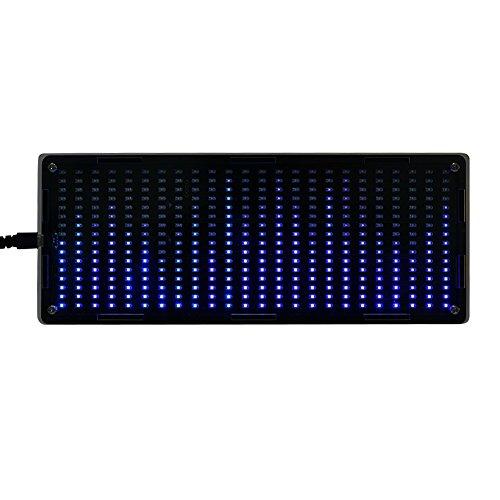 Serounder 384Pcs LED Lights Digital Audio Music Spectrum Analyzer Display with Shell DIY Tools