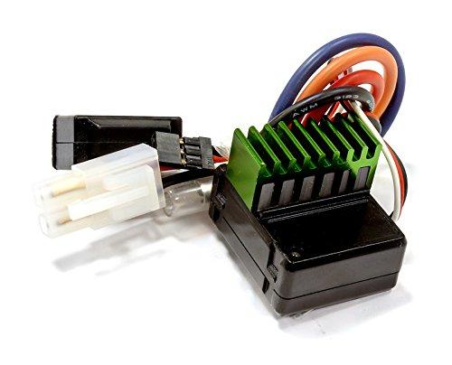 Integy RC Model Hop-ups C25324 Rock Crawler Edition ESC Forward/Reverse w/Drag Brake for 55T Motor ()