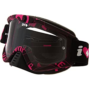Spy Optic Whip 320791989097 Snow Goggles, One Size (Keep A Breast Frame/Clear Lens)