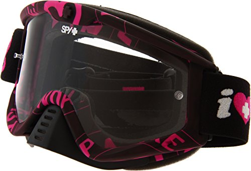 Spy Optic Whip 320791989097 Snow Goggles, One Size (Keep A Breast Frame/Clear - Lenses Spy Goggle