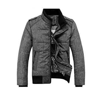 Gaorui Men winter sport quilted jacket cotton-padded dust