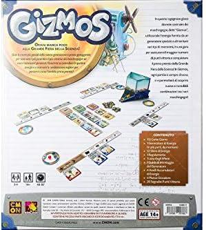 Asmodee- Gizmos, Gioco da Tavolo, CMON