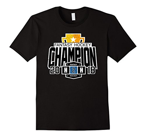 - 2018 H2H Fantasy Hockey Champion T-Shirt
