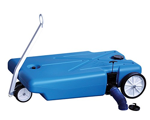 Barker (27844) 4-Wheeler Tote Tank - 32 Gallon Capacity by Barker