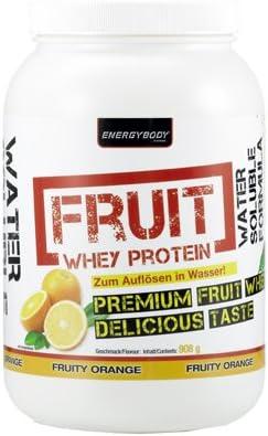 Energybody - Proteína de suero de frutas (908 g, melón ...