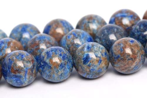 (8mm Natural Blue Crazy Lace Agate Beads Grade Round Loose Beads 15'' Crafting Key Chain Bracelet Necklace Jewelry Accessories)