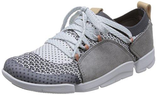 Tri Gris Amelia Mujer para Grey Zapatillas Clarks Combi d5qwXPzq