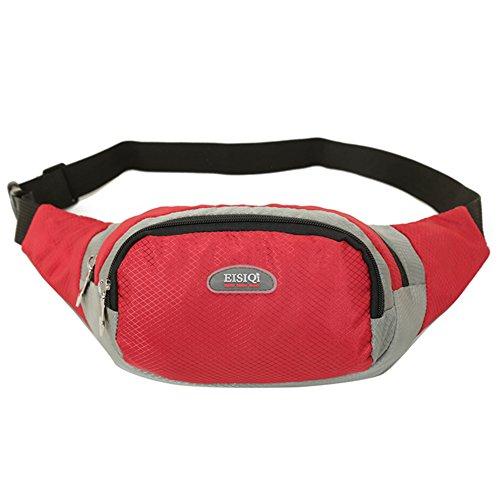 bolsillos de los hombres/Ocio y tiempo libre Deportes montar paquete de pecho/Ejecución del paquete de telefonía/bolso de hombro de múltiples funciones-I E