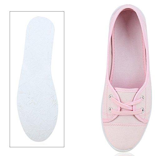 Japado - Bailarinas Mujer rosa blanco
