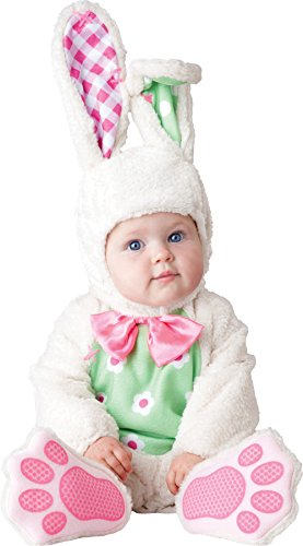 Scary Easter Bunny Costumes (UHC Baby's Easter Bunny Infant Toddler Safari Rabbit Theme Halloween Costume, 6-12M)