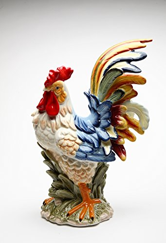 Fine Ceramic Rooster Figurine 15