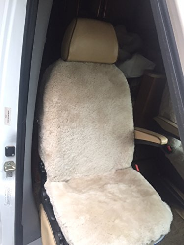 Sprinter Van Sheepskin front seat covers, synthetic back Dodge Mercedes Class B & C, Motor - Spring Galleria Cool