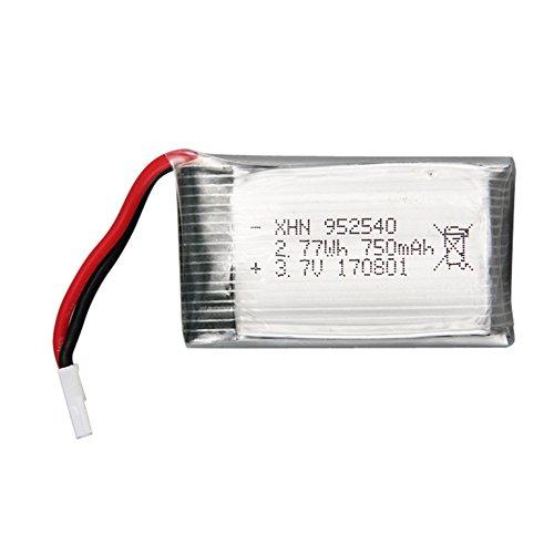 TwoCC 1pcs 3.7V 750mah batería de alta capacidad de Li-Po para Sh5 ...